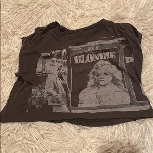 Blondie crop top